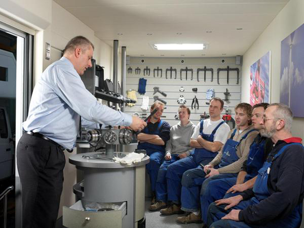 Interieur opstelling scholing