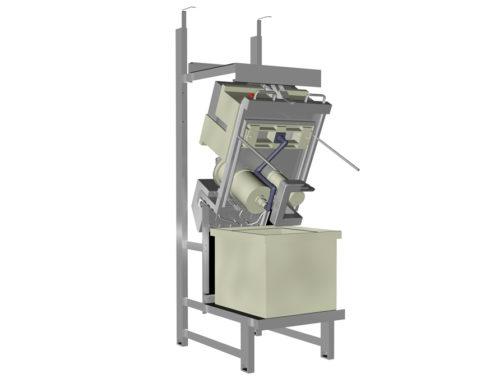 Plating machine (visualisatie)